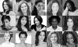 Top (from left): Candy Buckley, Donna Lynne Champlin, Rosa Gilmore, Judy Gold, LaTanya Richardson Jackson Middle (from left): Cush Jumbo, Teresa Avia Lim, Janet McTeer, Adrienne C. Moore, Anne L. Nathan Bottom (from left): Gayle Rankin, Pearl Rhein, Leenya Rideout, Jackie Sanders, Stacey Sargeant