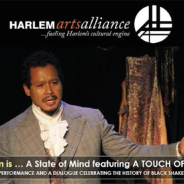 "Free with RSVP – ""harlem is…A STATE OF MIND"" featuring A Touch of Sable"