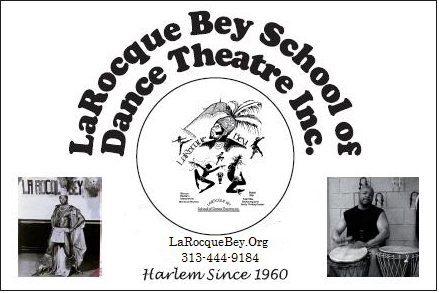 Free For All – African Dance and Drumming Workshop with LaRocque Bey Dance & Drum
