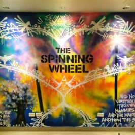 Free For All – The Spinning Wheel –  Street Art Poetics