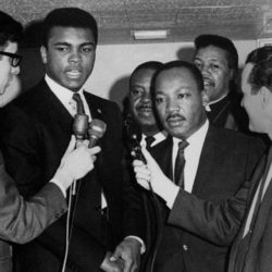 "Muhammad Ali & Martin Luther King, Jr. ""The best way to make your dreams come true is to wake up."""
