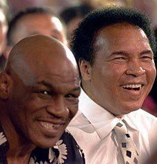Mike Tyson & Muhammad Ali