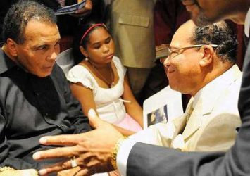 Muhammad Ali & Honorable Minister Louis Farrakhan