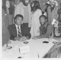 Muhammad Ali and Marvin Gaye