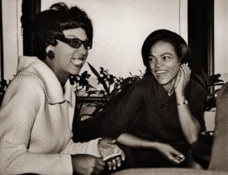 Josephine Baker & Eartha Kitt