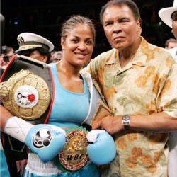 Muhammad Ali & Daughter Laila Ali