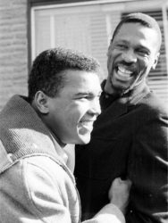 Muhammad Ali and Bill Russell....