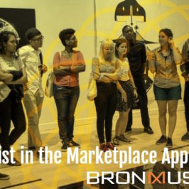 "The Bronx Museum of the Arts – ""Artist in the Marketplace Application AIM 2017"""