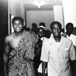 Muhammad Ali & Kwame Nkrumah, President of Ghana