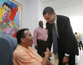 Muhammad Ali & President Obama