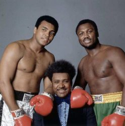 Muhammad Ali, Don King & George Foreman
