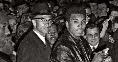 Malcolm X & Muhammad Ali in Ghana