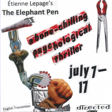 "Theater Review: ""The Elephant Pen"""