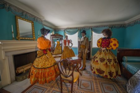 """Sara Bunn's """"A Day in the Life of Seneca Village: """"We Wore More Than Shackles"""" 1827 - 1858"""". Photos by Burroughs Lamar"""