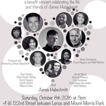 """Here's to Life"" – James Hubschmitt Birthday Bash and Concert –  Proceeds To Benefit The Actors Fund of America"