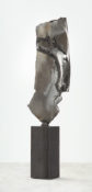 """Rare Earth"" -  Steel and Bronze 12 x 2 x 2 inches 2013--Jordan Baker-Caldwell"