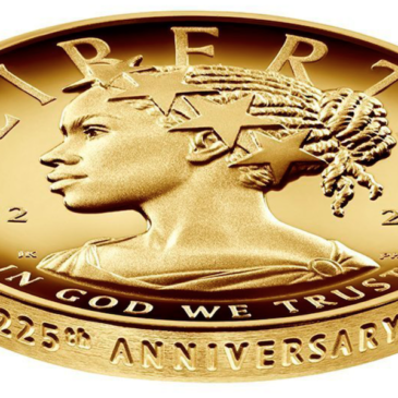 African-American Lady Liberty (donning Dreadlocks) graces US Mint's newest coin