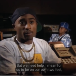 "Tupac Talks Donald Trump & Greed in America in 1992 and ""The Charleston Chronicle""—both have vital Black History Month Messages for you"