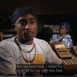 """Tupac Talks Donald Trump & Greed in America in 1992 and """"The Charleston Chronicle""""—both have vital Black History Month Messages for you"""