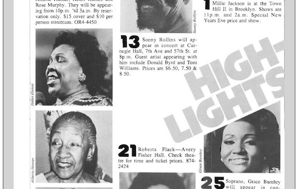 Routes Magazine Highlights — January 1978