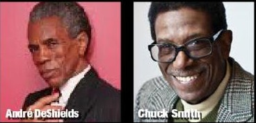JUNE 30, 3PM - ANDRE DESHIELDS & CHUCK SMITH
