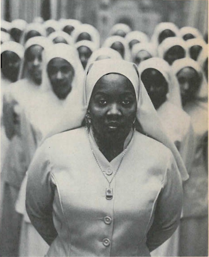 """""""Black Muslim Women, Chicago, 1963"""" - Moments Without Proper Names, by Gordon Parks, 1975, ICP and Viking Press."""