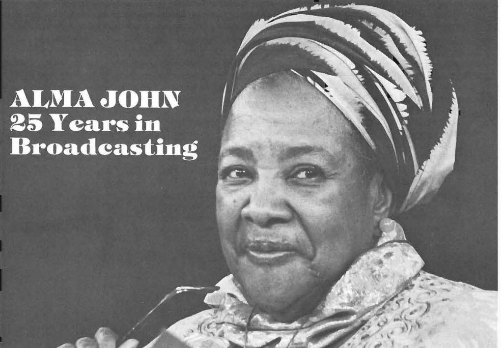 Alma John