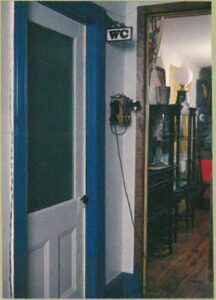 WC Entrance & Wall Telephone