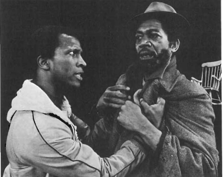 Dorian Harewood and Morgan Freeman.
