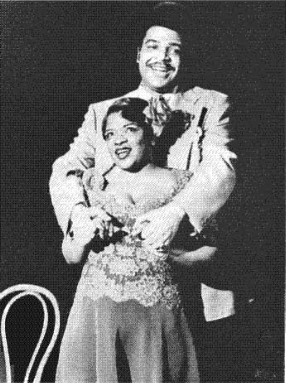 Ken Page and Nell Carter