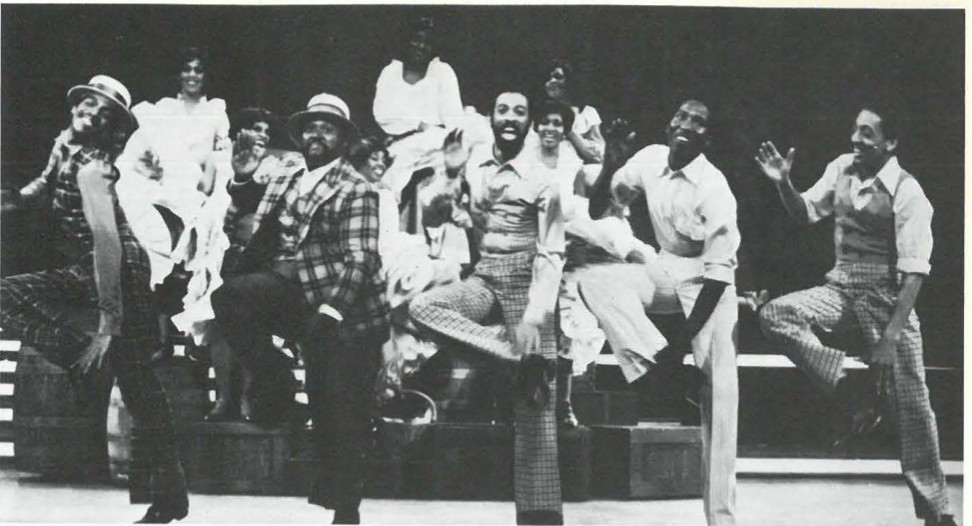 Lonnie McNiel, Jeffery V. Thompson, Maurice Hines, Mel Johnson Jr. , Gregory Hines.