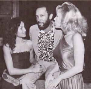 Roy Ayers flanked on the left by Latoya Jackson and on the right by Lemore O'Malley