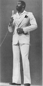 Teddy Pendergrass in White Suite