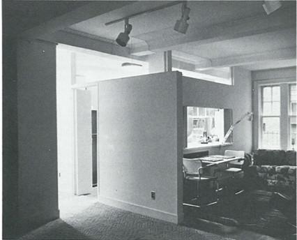 Garrison McNeil Architect. Interior Renovation for a Manhattan Apartment.