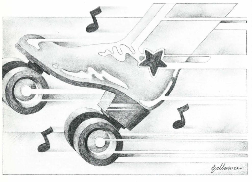 Sketch of a Musical Rollerskate