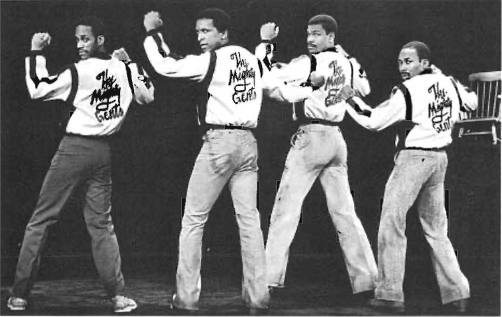 THE GANG: THE MIGHTY GENTS-Mansoor Najee-Ullah, Dorian Harewood, Richard Gant and Brent Jennings.