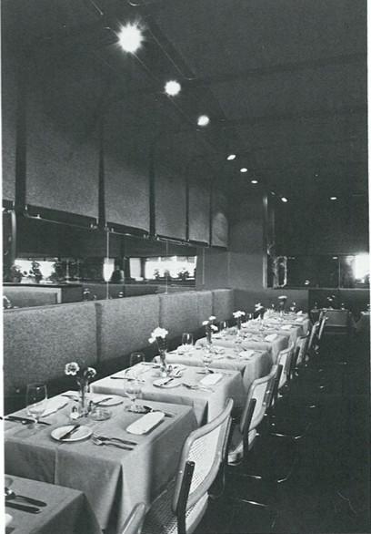 Main Street Restaurant Interior