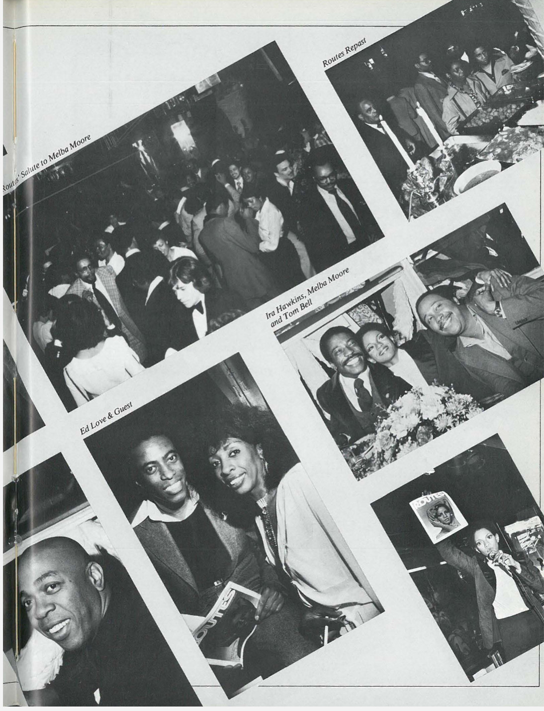 Melba Moore, Ira Hawkins, Tom Bell, Ed Love, Geoffrey Holder
