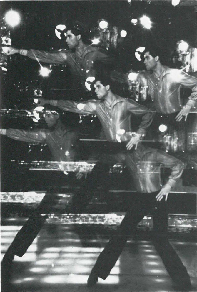 John Travolta stars as the studio dance champion in Paramont pictures Saturday night fever which explores the restless and explosive generation growing up in the 70s.
