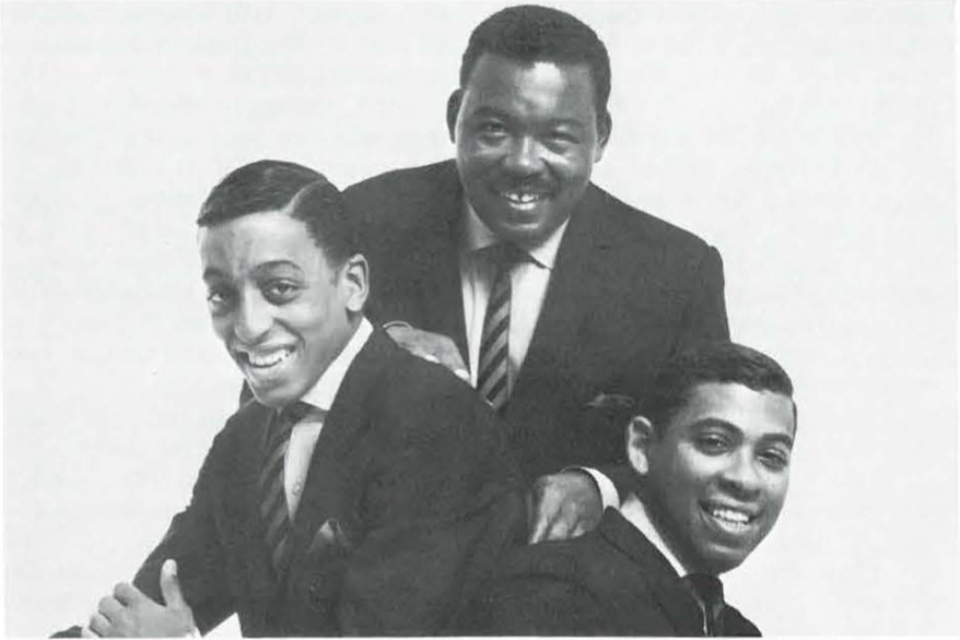 (L-R) Gregory Hines (C) Chink Hines (Dad) Hines, Maurice Hines