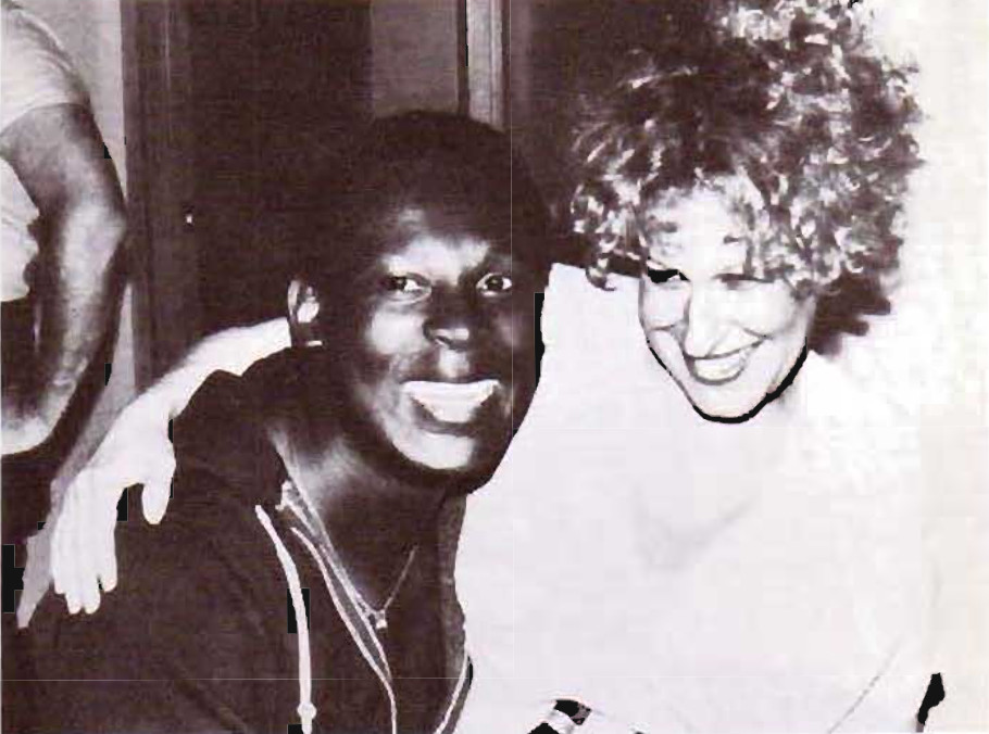 Sylvester and Bette Midler