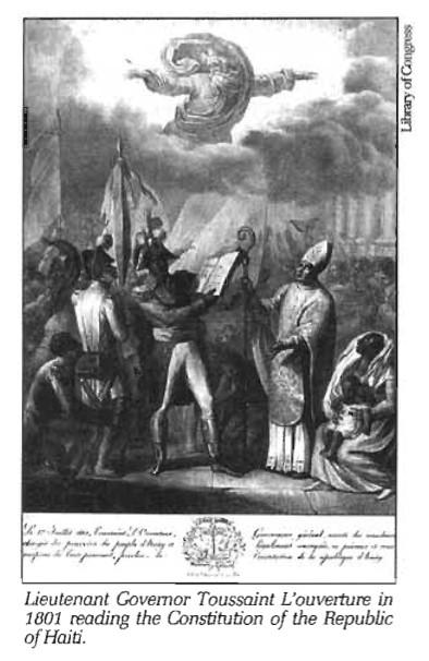 Toussaint L'ouverture Reading Constitution