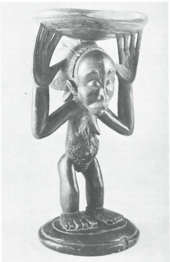 Stool; Standing Caryatid