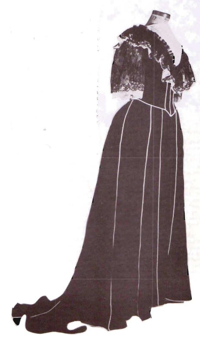 Inauguration Gown by Elizabeth Keckley