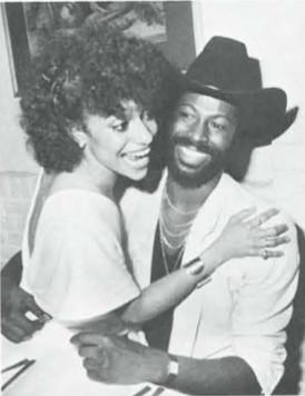 Debbie Alien and Teddy Pendergrass
