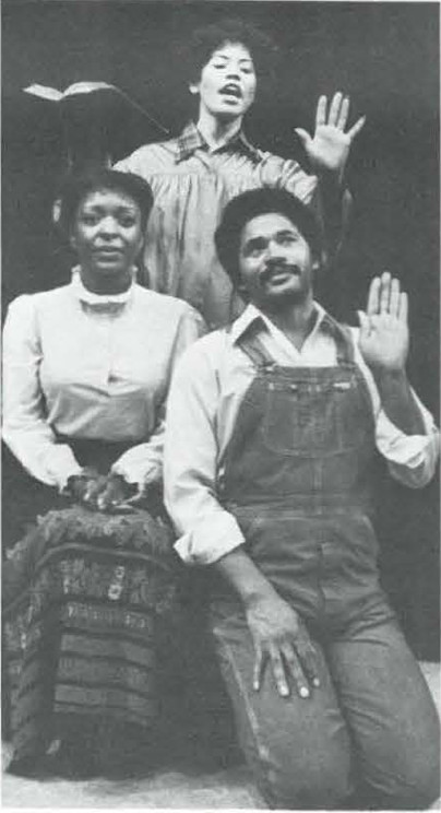 """Liscott Caldwell, Michele Shay and Charles Brown in """"Home"""""""