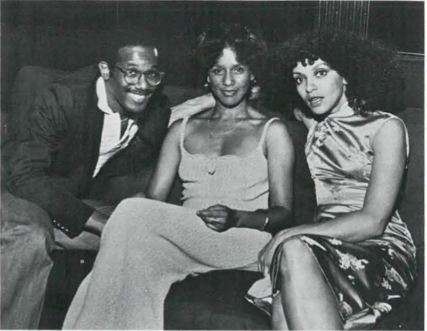 Marian Etoile Watson, Vonneta McGee and Larry Blackman