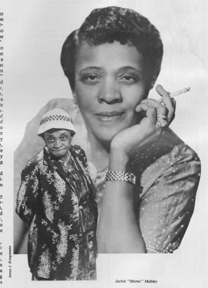 Jackie ''Moms'' Mabley