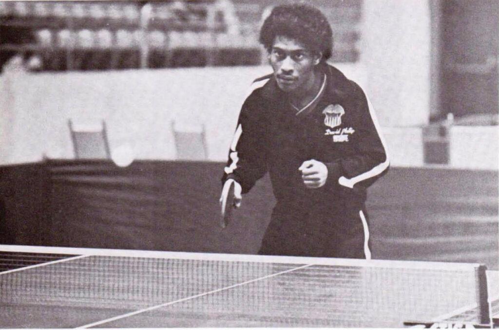 David Philip, Member of the US Olympic Table Tennis Team