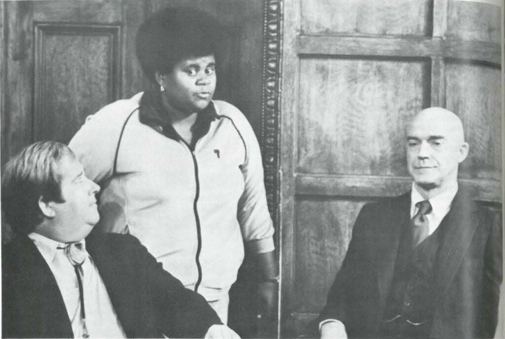 """One In a Million."" (Left to Right) Keene Curtis, Shirley Hemphill & Richard Paul."